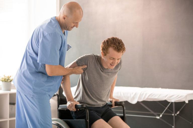 rolstoeltraining